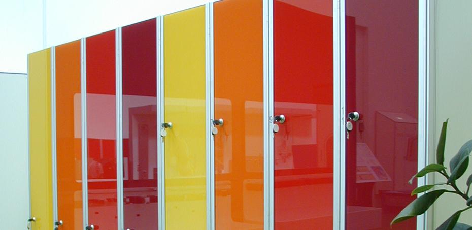 Armadietti Da Spogliatoio A Torino.Armadio Spogliatoio Design Ante In Vetro