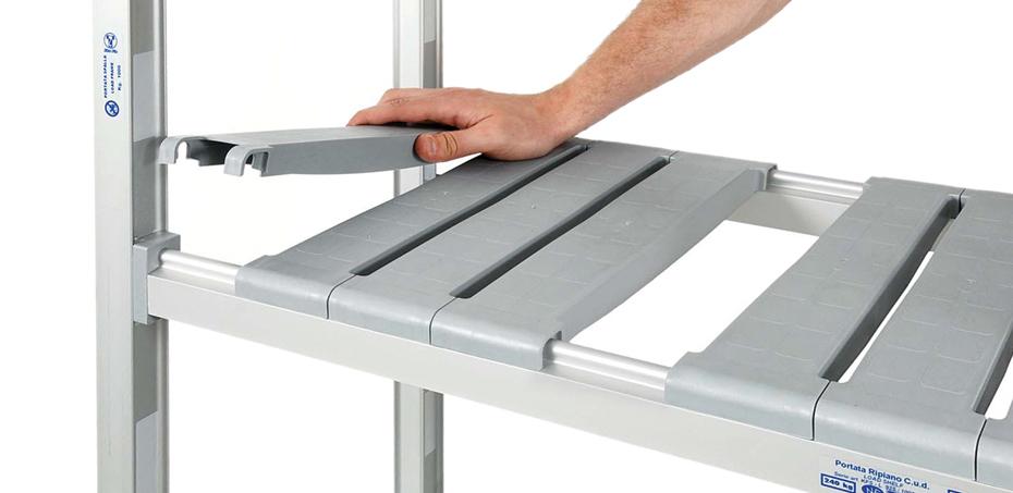 Scaffali Metallici Modena.Scaffali In Alluminio Per Ambienti Puliti