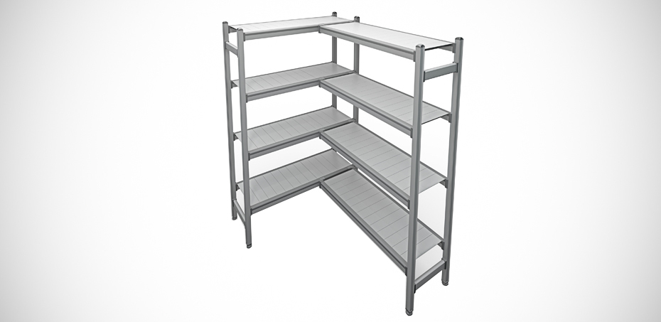 Scaffalature Metalliche Genova Via Gavette.Scaffali In Alluminio Per Ambienti Puliti